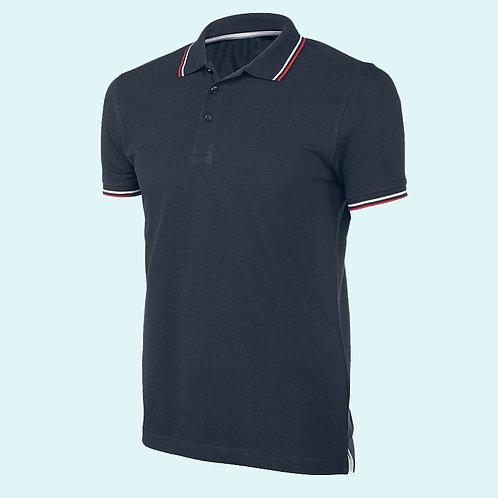 Short sleeve polo shirt for men navy