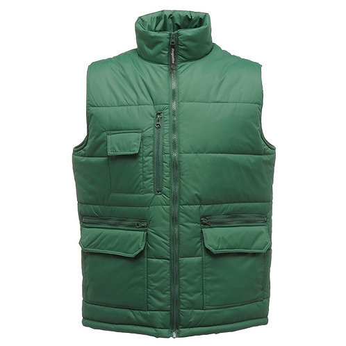 Stella ripstop bodywarmer bottle green