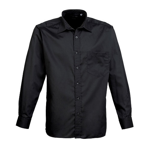 Hemd POPLIN black