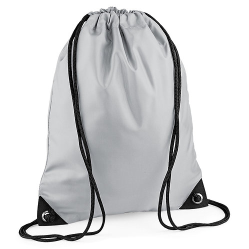 BagBase Gymsac Light Grey