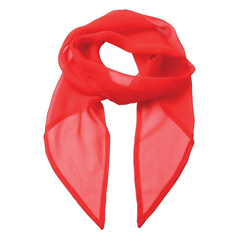 Foulard strawberry red