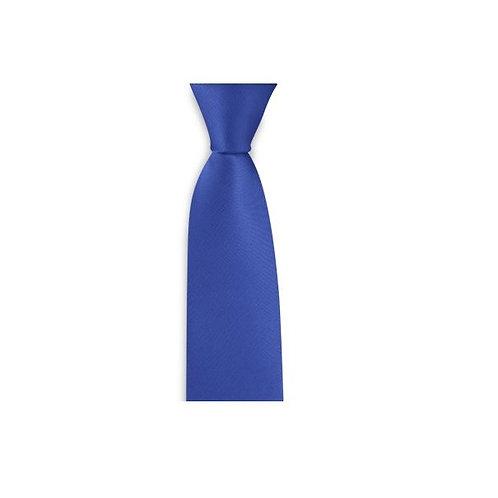 Krawatte 6cm kobaltblau