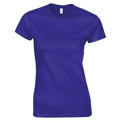 T-Shirt cobalt for women