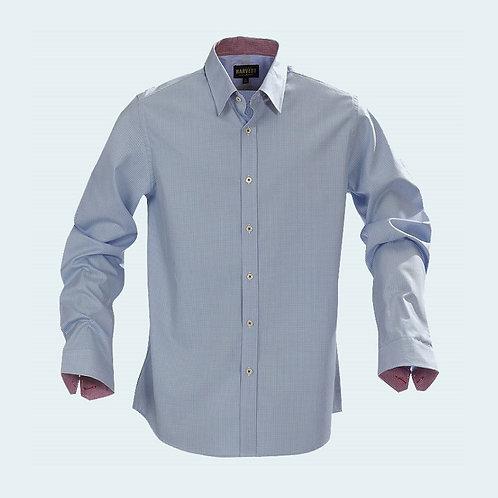 Brighton Checked Shirt Light Blue Check