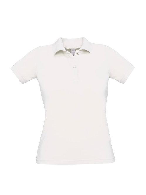 Poloshirt white