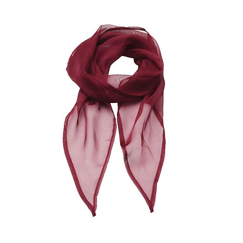 Foulard burgundy