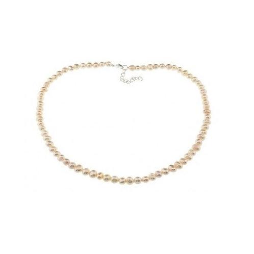 Halsschmuck mit echten Perlen