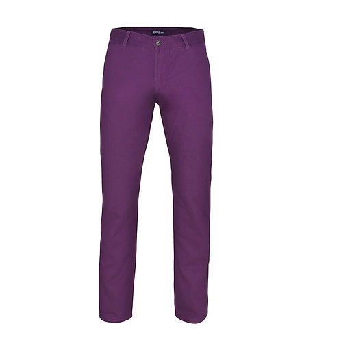 Chino Hose purple