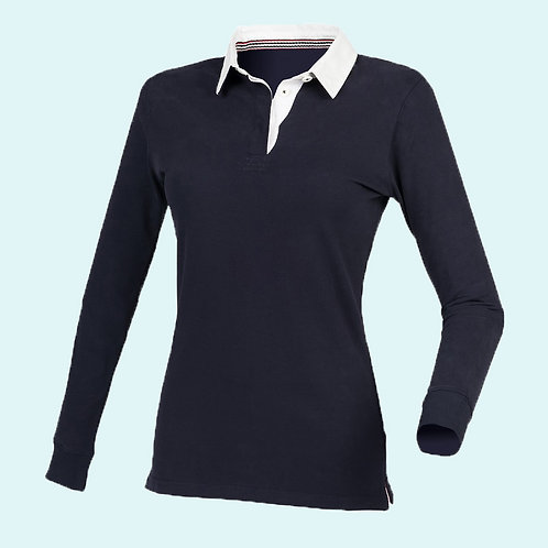 Premium superfit rugby navy for women