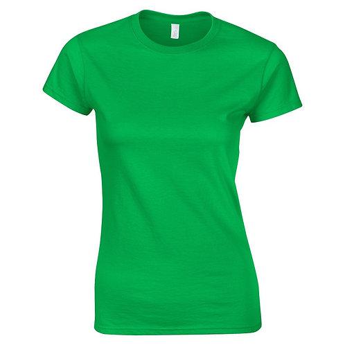 T-Shirt irish green for women