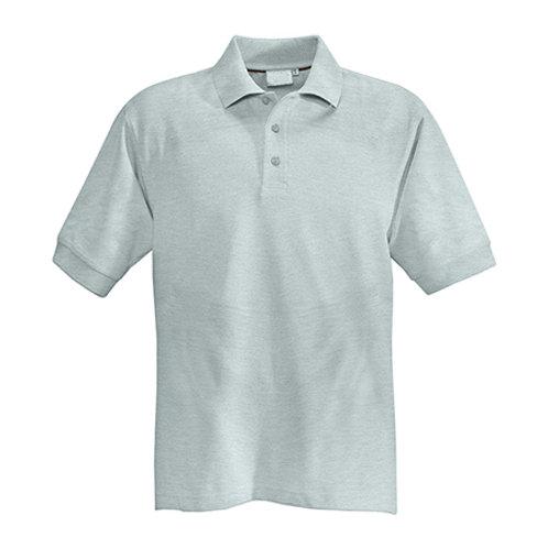 Poloshirt Herren hellgrau