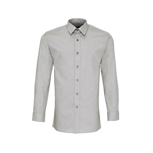 Hemd ohne Brusttasche Silver