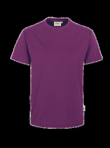 T-Shirt Rund-Hals aubergine for men