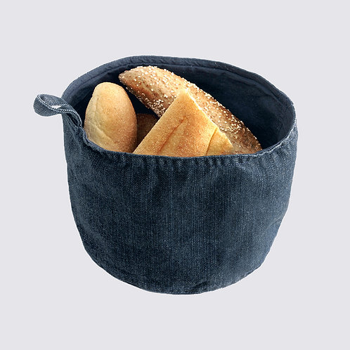 Brotkorb aus DENIM