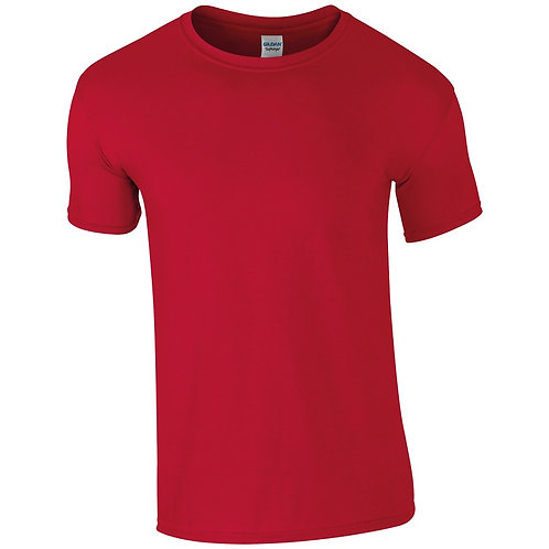 T-Shirt cherry red for men