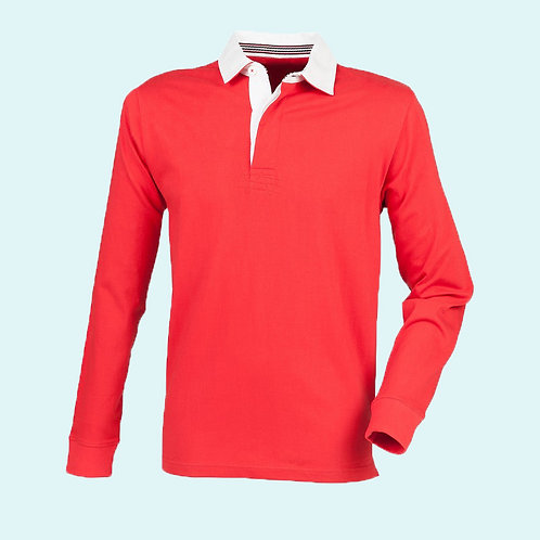 Premium superfit rugby red for men