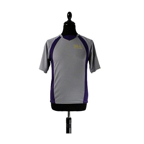 T-Shirt silver grey/purple 5/6 years-9/10 years