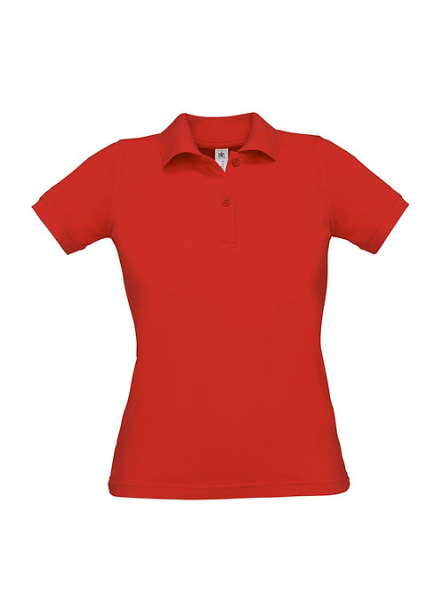 Poloshirt red