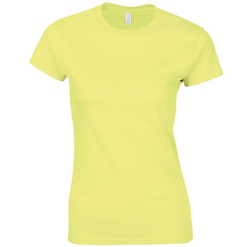 T-Shirt cornsilk for women