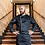 Thumbnail: Clement Kochjacke Murano mit Streifen Herren schwarz