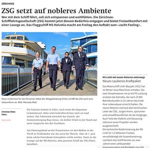 ZSG setzt auf nobleres Ambiente