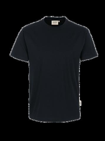 T-Shirt Rund-Hals schwarz for men