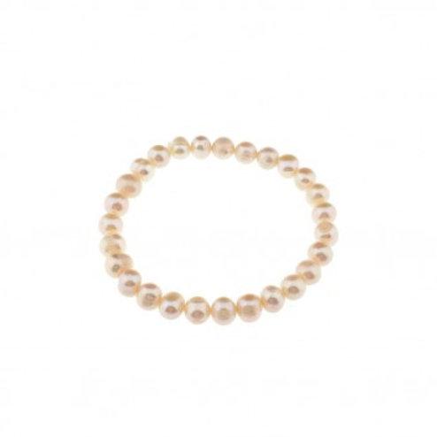 Armschmuck mit echten Perlen