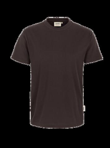 T-Shirt Rund-Hals schokolade for men
