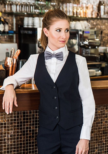 berufsbekleidung, elegant style, corporate clothing, kellner