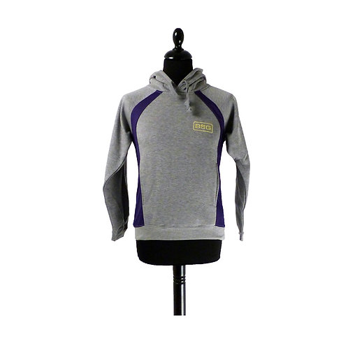 Hoody Silver Grey/Purple (5/6 - 9/10 years)