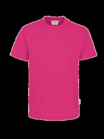 T-Shirt Rund-Hals magenta for men
