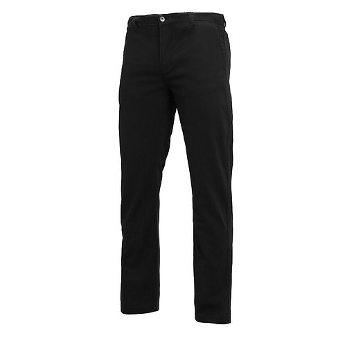 Chino Herren, Regular fit,  Schwarz