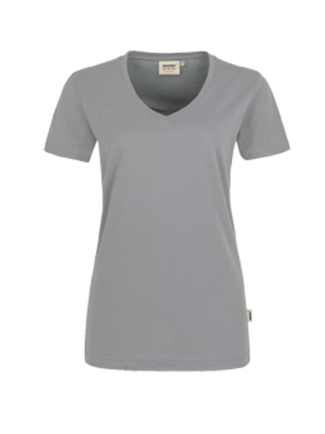 T-Shirt V-Hals titan for women