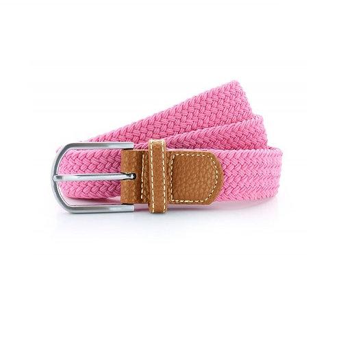 Geflochtener Gürtel pink