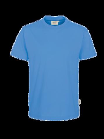 T-Shirt Rund-Hals malibublau for men