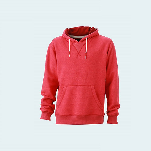 Herren Softsweat carmine-red-melange