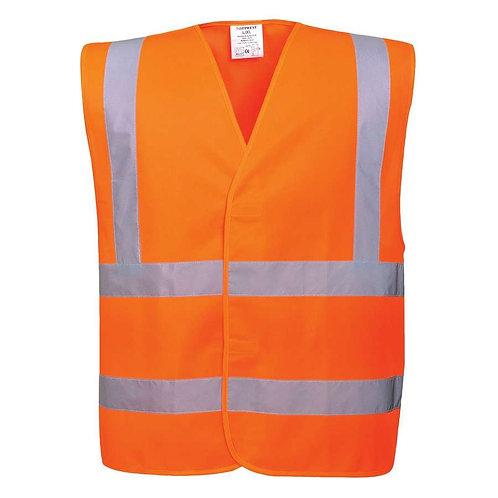 Warnschutzweste flammhemmend orange
