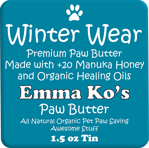 Emma Ko's Winter Wear 1.5 oz Travel Tin - Premium Healing Butter