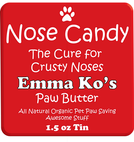 Nose Candy -The Cure for Sore Puppy Noses