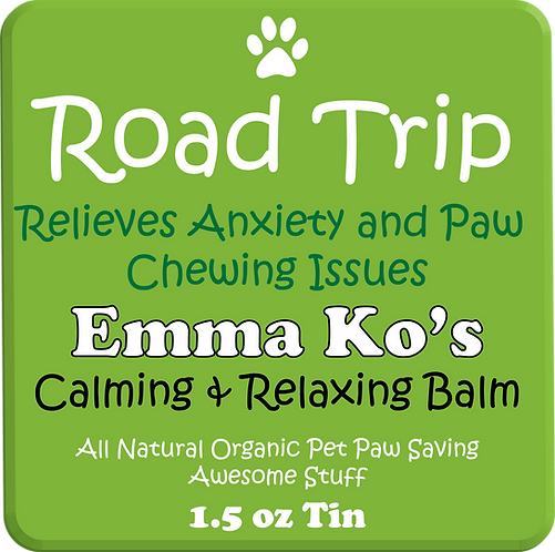 Road Trip - Anti-Anxiety and Paw Chewing