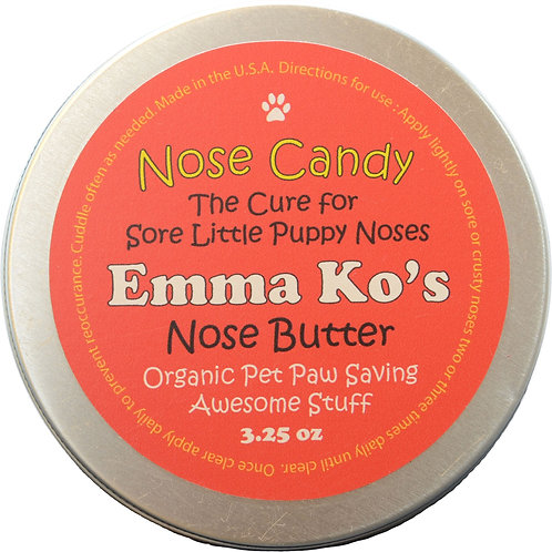 Emma Ko's Nose Candy 3.25 oz Tin for Crusty Noses