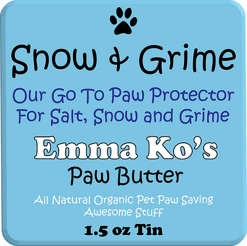 Emma Ko's Snow & Grime 1.5 oz Travel Tin - Winter Protection Wax
