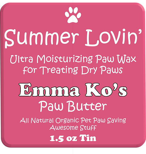 Summer Lovin' - Light and Moisturizing Paw Butter