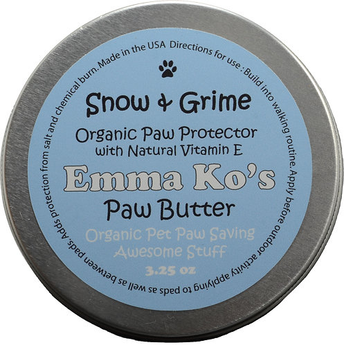 Snow & Grime 3.25 oz Paw Size Tin