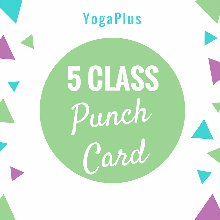 5 Class Punch Card