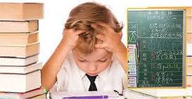 Dyslexic homework struggle
