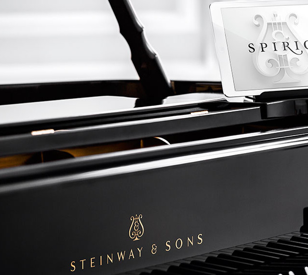 SPIRIO RECORDING FOR STEINWAY & SONS