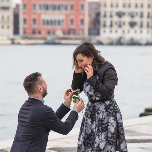 proposta matrimonio venezia