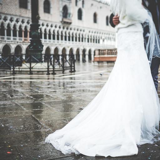 vestito matrimonio venezia