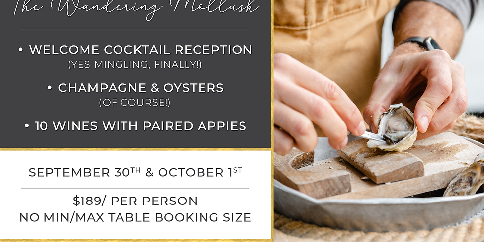 A Night of Champagne & Oysters